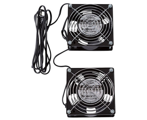 Network Rack, Low Noise Fan Kit, Two Fans