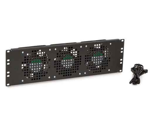 Network Rack, Triple Fan Panel, 3U