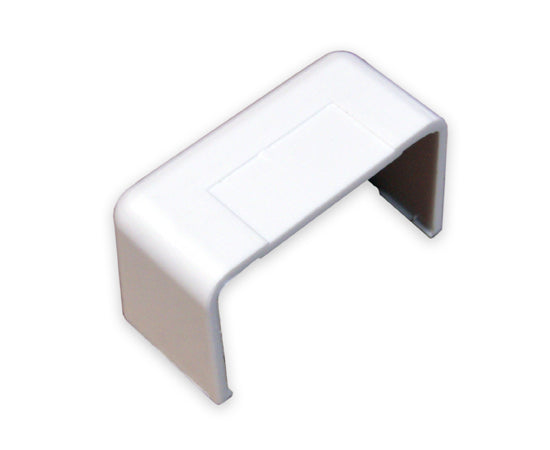 Raceway Duct End Cap Fitting - White
