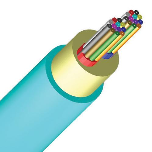 Micro-Distribution High Density Plenum Fiber Optic Cable, Multimode 10 Gig OM3, Indoor