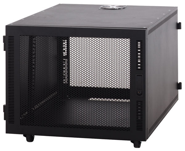 Network Rack, SOHO Server Enclosure, 8U - Vented Doors
