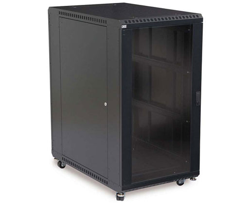 "Network Rack, Server Enclosure, Glass Front Door, 22U/36"" 1 of 9"