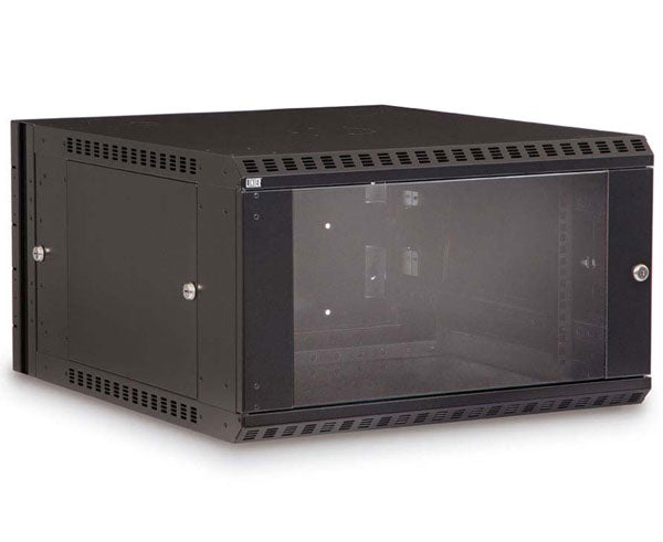 Network Rack, Swing-Out Wall Mount Enclosure, 6U 1 of 8