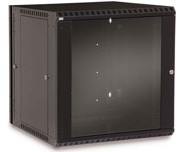 Network Rack, Swing-Out Wall Mount Enclosure, 12U