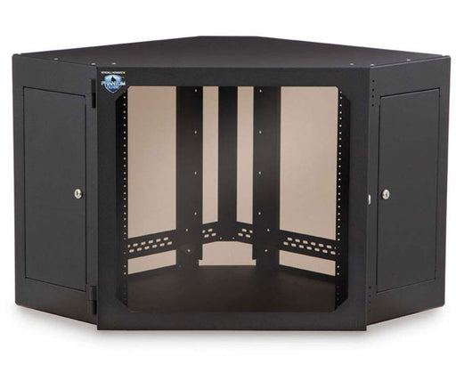 Network Rack, Corner Wall Mount Enclosure, 12U 1 of 10