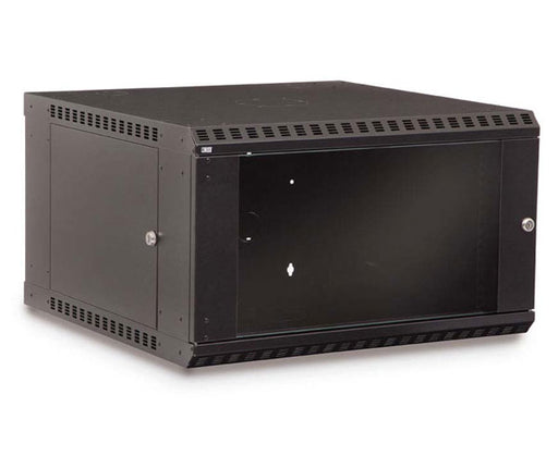 Network Rack, Fixed Wall Mount Enclosure, 6U angle 1