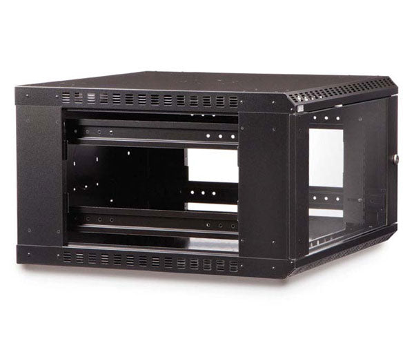 Network Rack, Fixed Wall Mount Enclosure, 6U angle 2