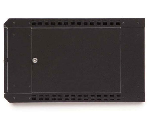 Network Rack, Fixed Wall Mount Enclosure, 6U angle 4