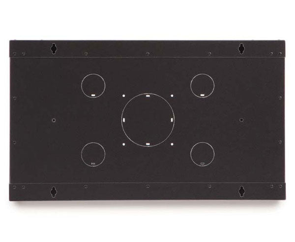 Network Rack, Fixed Wall Mount Enclosure, 6U angle 6