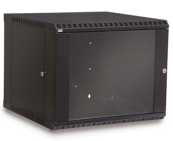 Network Rack, Fixed Wall Mount Enclosure, 9U