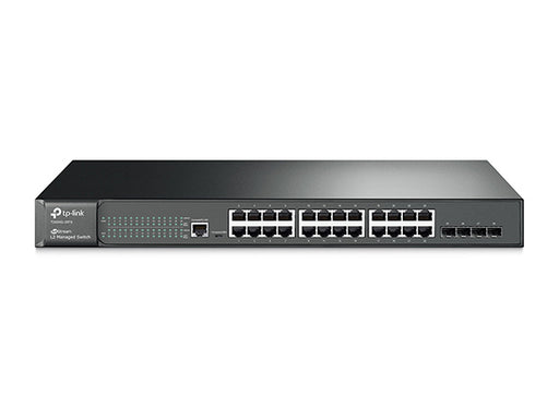 JetStream 24-Port Gigabit L2 Managed Ethernet Switch with 4 SFP Slots