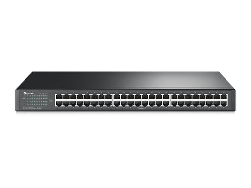 Unmanaged Ethernet Switch, 48 Port, 10/100Mbps Rackmount