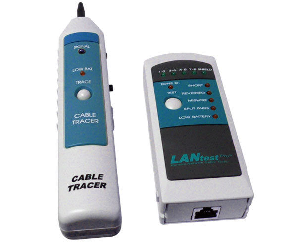 Network Cable Tester Pro and Probe Kit