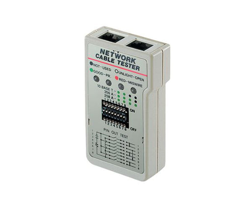 Network Cable Tester - RoHS Compliant