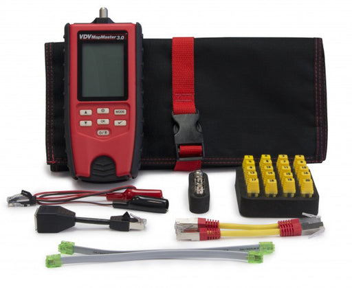 VDV MapMaster 3.0 Network Cable Tester Kit