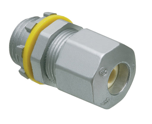 UF Cable Connectors, Compression type for underground feeder cable. Zinc die-cast.