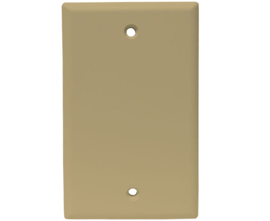 Blank Wall Plates, 2.3/4(W) x 4.1/2(H) - Ivory