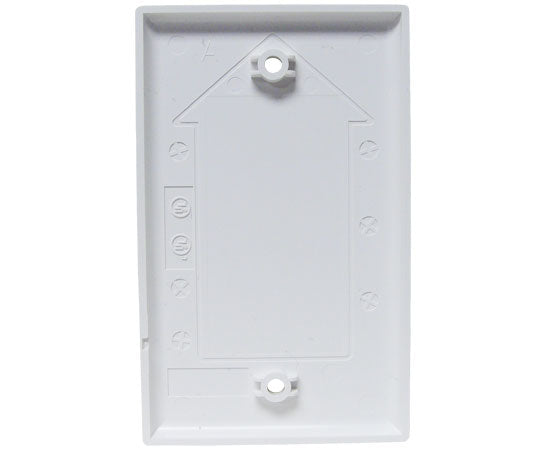 Blank Wall Plates, 2.3/4(W) x 4.1/2(H) - White backside