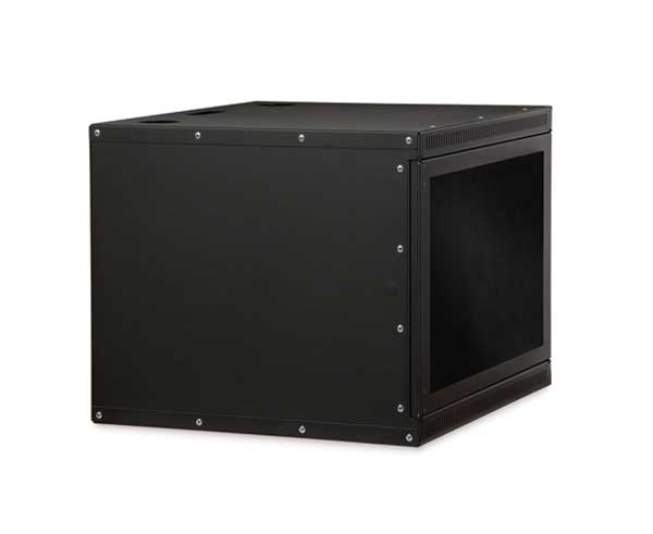 Network Rack, Wall Mount Enclosure, Locking Door, 8U 3 OF 6