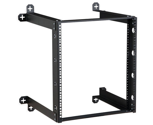 "Network Rack, 18"" Deep V-Line Open Frame Wall Mount"