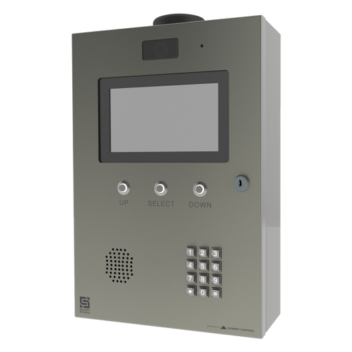 Cellular Multi-Tenant Entry System with LCD