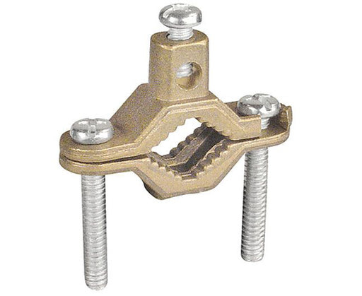Bronze Ground Clamp for Bare Wire and Pipe
