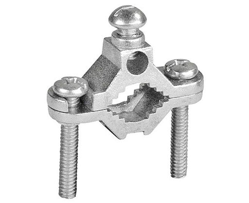 Zinc Ground Clamp for Bare Wire and Pipe