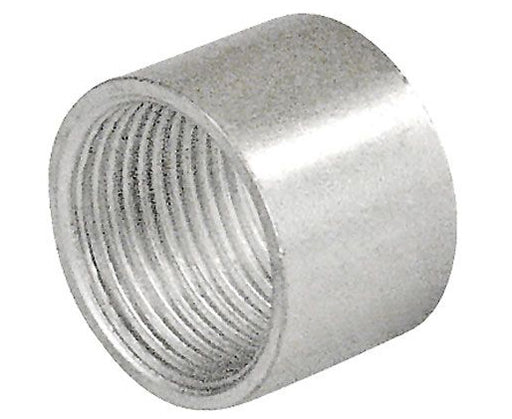 Zinc Plated Steel Short Threaded Coupling