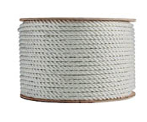 3 Strand White Polyester Rope