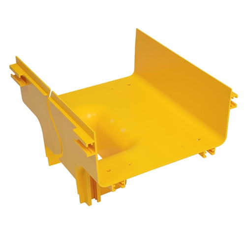 "10"" to 5"" Vertical Tee - Fiber Cable Tray Channel"