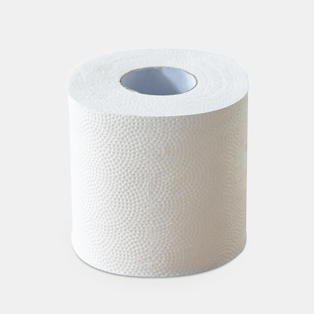 4 Rolls Paper Towel 3Layers Skin-friendly Tissues Paper Rolls Ultra Gentle Paper Towel Home Toilet