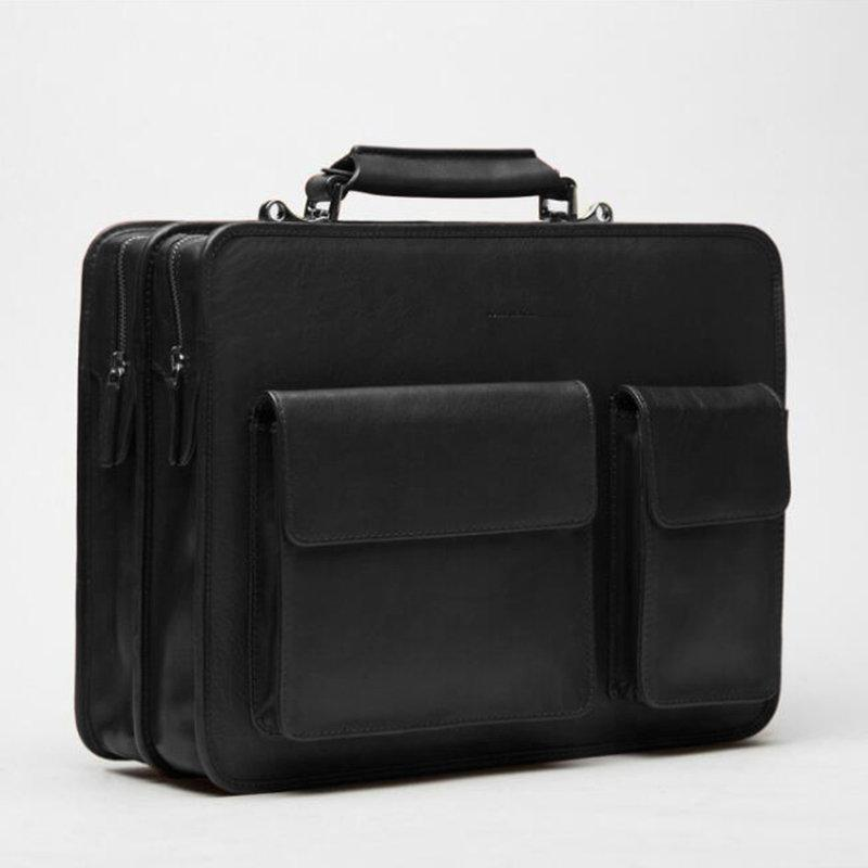 Men Designer Travel Laptop Bag Solid Crossbody Bag