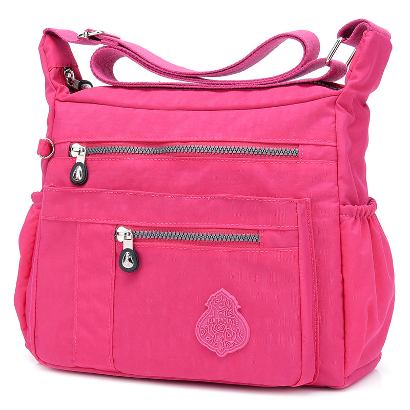 Women Solid Crossbody Bag Waterproof Casual Bag