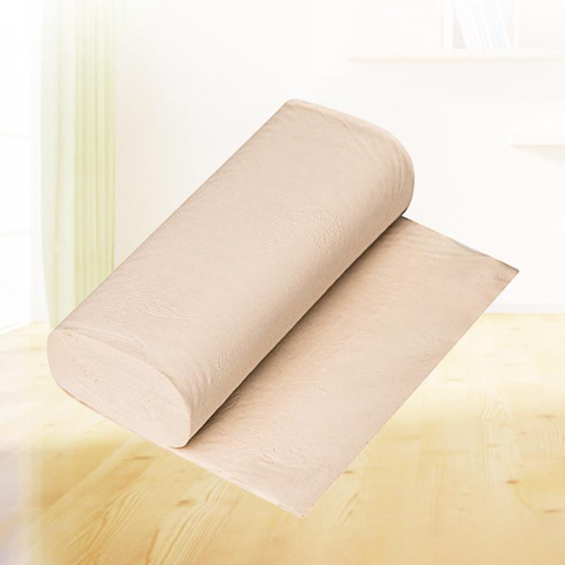 4-Layer Natural Thick Bamboo Pulp Roll Paper Household Soft Coreless Toilet Paper Roll