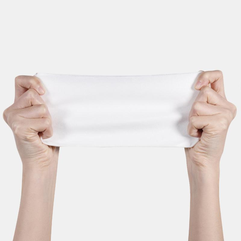 100 Pumps Disposable Wash Towel Cotton Fiber Facial Cleansing Skin-friendly Disposable Face Towel