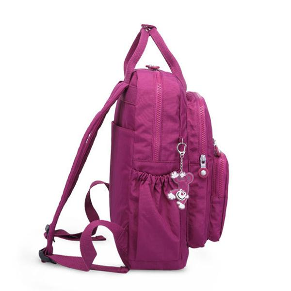 Multi-Pocket Waterproof School Backpack
