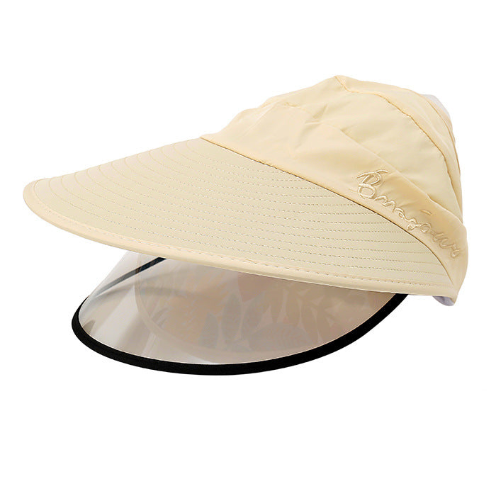 Women's Summer Sun Hat Double-layer Big-edge Outdoor Anti-UV