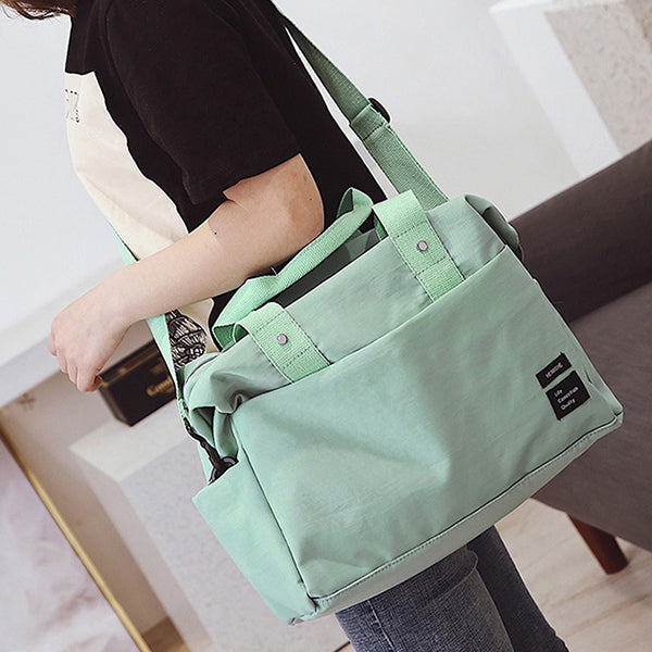 Women Casual Nylon Travel Storage Bag Clothes Bags Luggage Bags