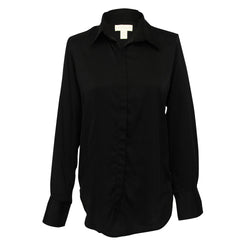 Camilla Blouse in Solid black