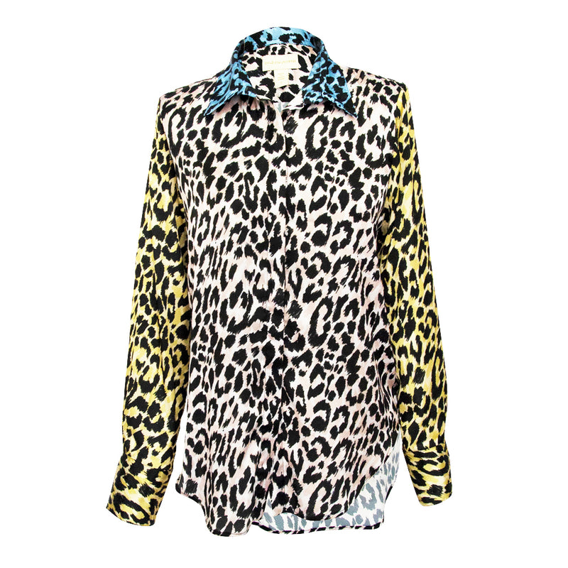 Camilla Blouse in Leo mix print