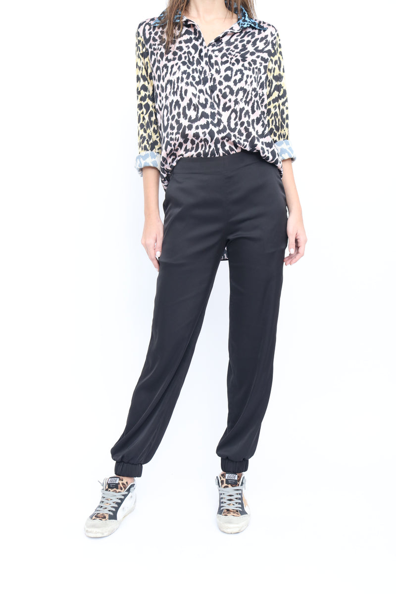 Allegra Pants in Solid black