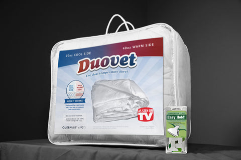 Duovet with Bonus Comforter Clips