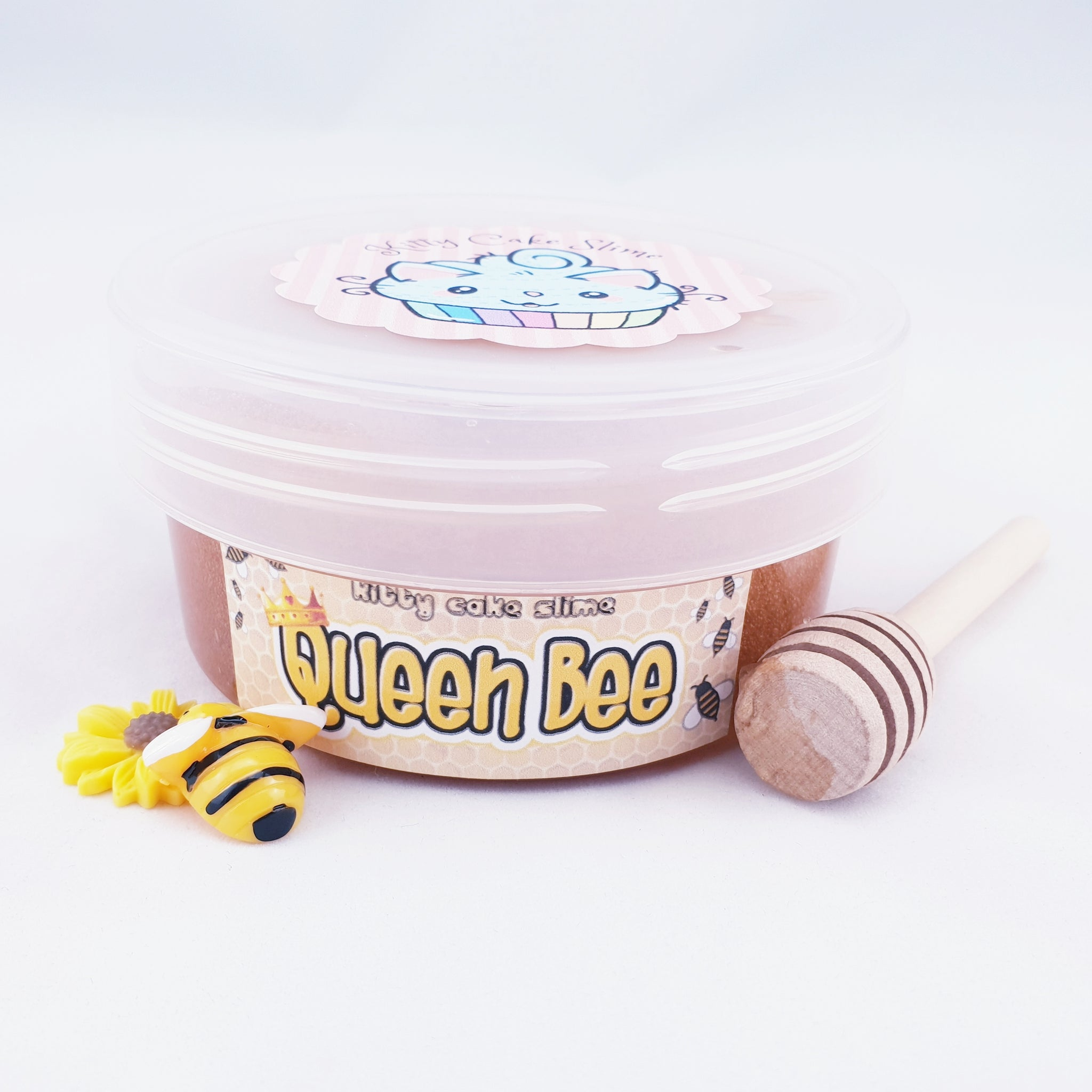 Queen Bee (Scented Crystal Clear Slime)