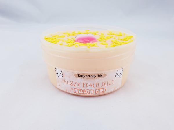 Sweet Peach Mellow Puff (Mallow Soft Butter Slime)