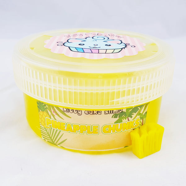 Tinned Pineapple Chunks (Jelly Cube Slime)