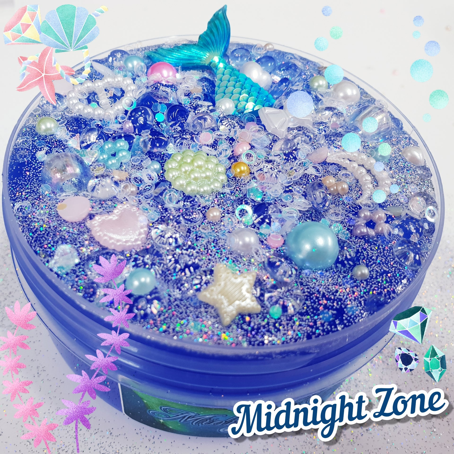 Midnight Zone (Highly Pigmented Clear Slime)