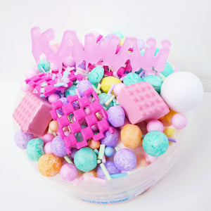 Kawaii Icecream Waffle Cone (Glue All Slime)