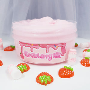 Strawberry Milk (Thick & Glossy Slime)