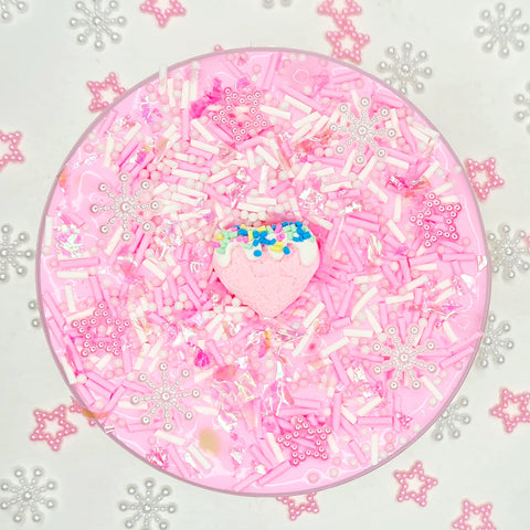 (REDUCED TO CLEAR!) Sparkly Sugar Cookie (Thick & Glossy Slime)