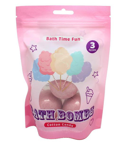 Cotton Candy Bath Bomb Balls (3 Pack)